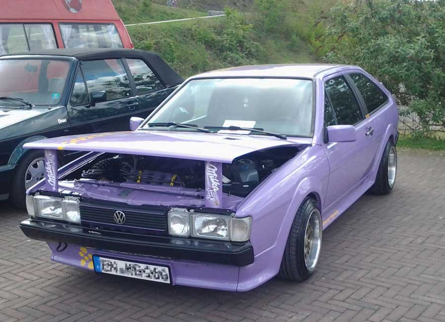 Oldtimer-Treffen Milka VW Scirocco