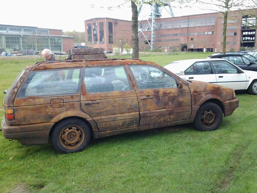 VW Passat als Rostlaube