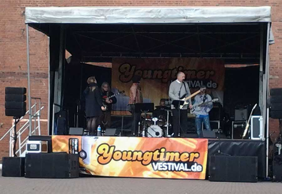 Band beim Youngtimer Vestival