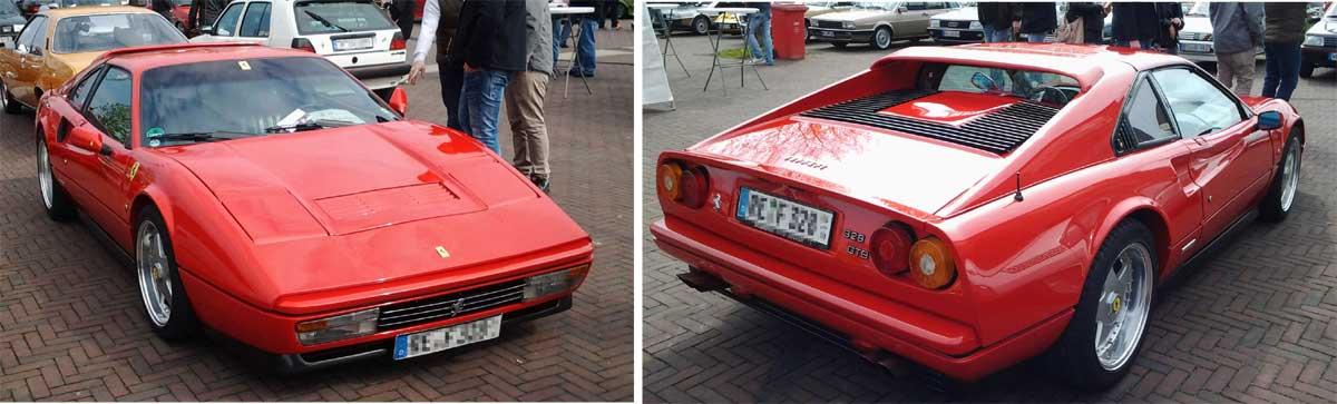 Oldtimer-Treffen Ferrari 328 GTB