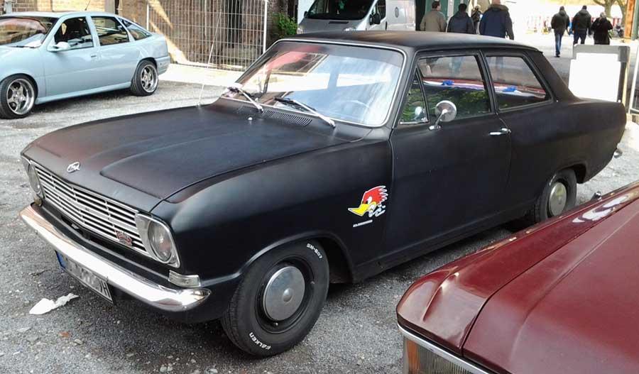 Opel Kadett mit H Kennzeichen
