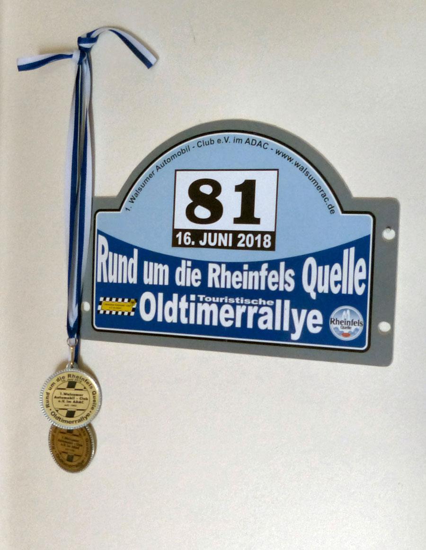 Highlights der Oldtimer-Rallye 2018