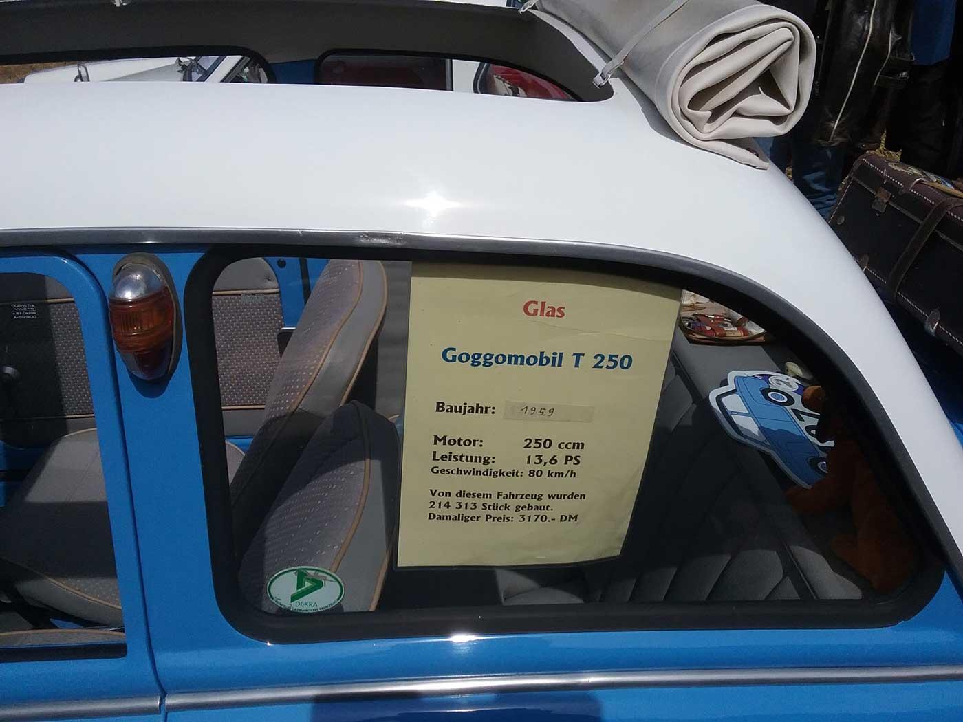 Beschreibung Goggomobil T 250