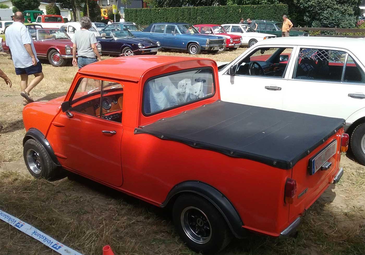 Der Mini Cooper als Pick Up