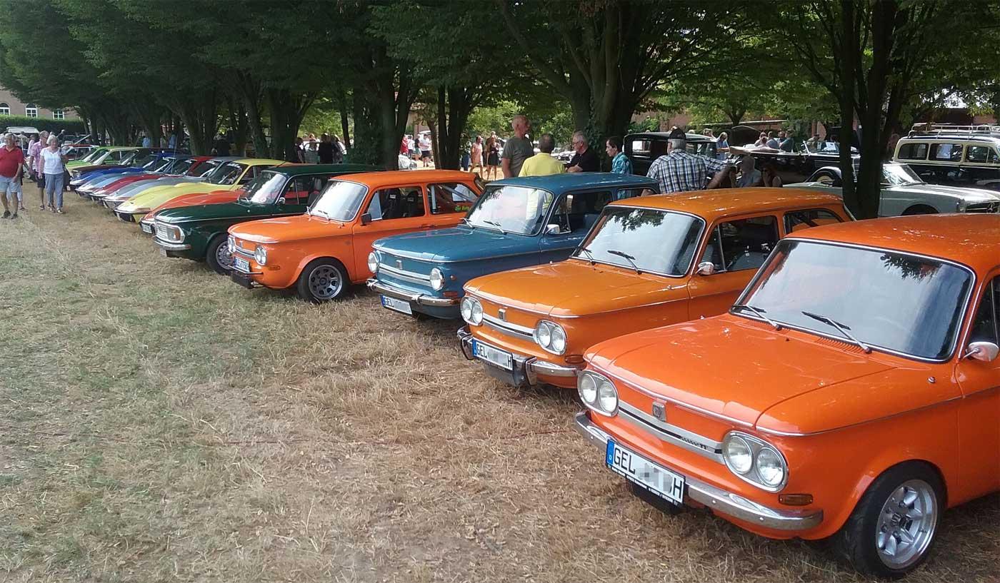 Der NSU Prinz und Opel GT
