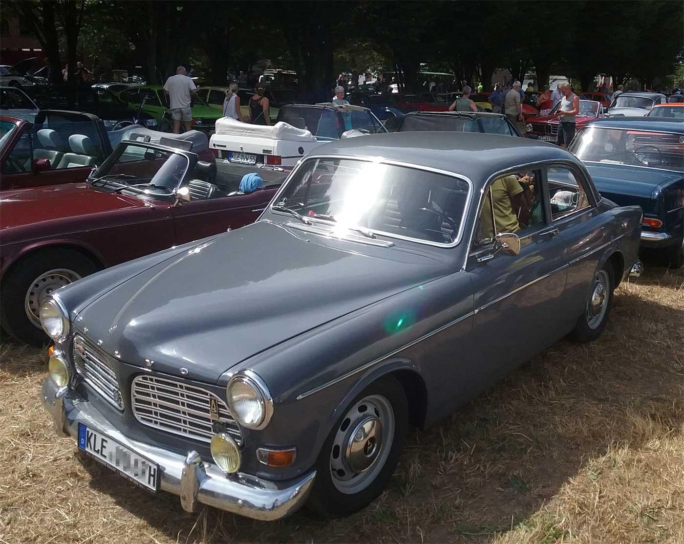 Der Volvo B20 ein Oldtimer