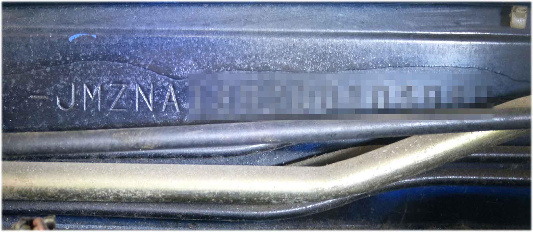 Fahrgestellnummer vom MX5