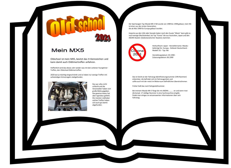 Oldschool Banner Webside MX5 na