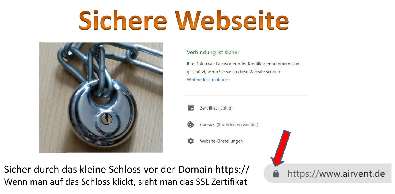 Umstellung zur sicheren Webseite