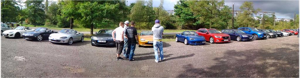 Mazda Treffen Lapadu Duisburg
