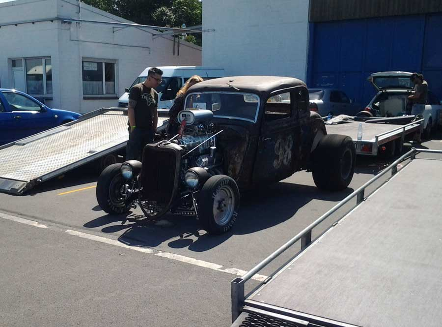 Hot Rod Quartermile Rennen