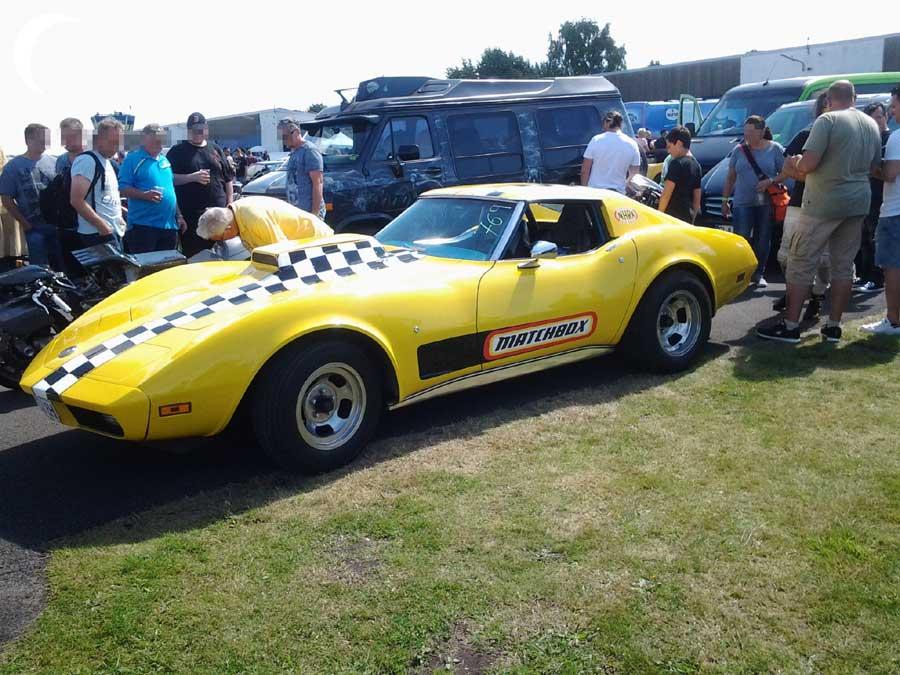 1/4 Meile Rennen Matchbox Corvette