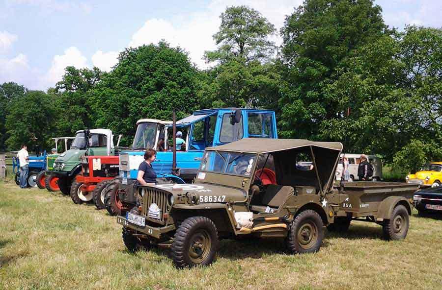 Oldtimer-Treffen Jeep US Army