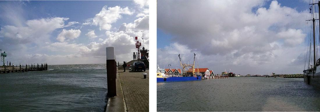 Einfahrt zum Seehafen Oudeschild