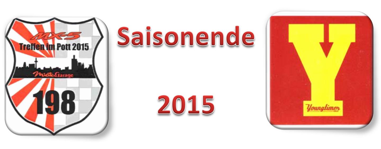 Saisonende 2015 Banner