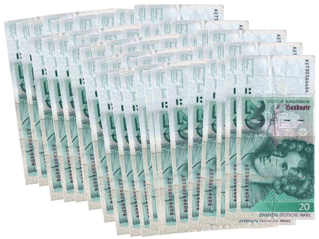History: DM Deutsche Mark