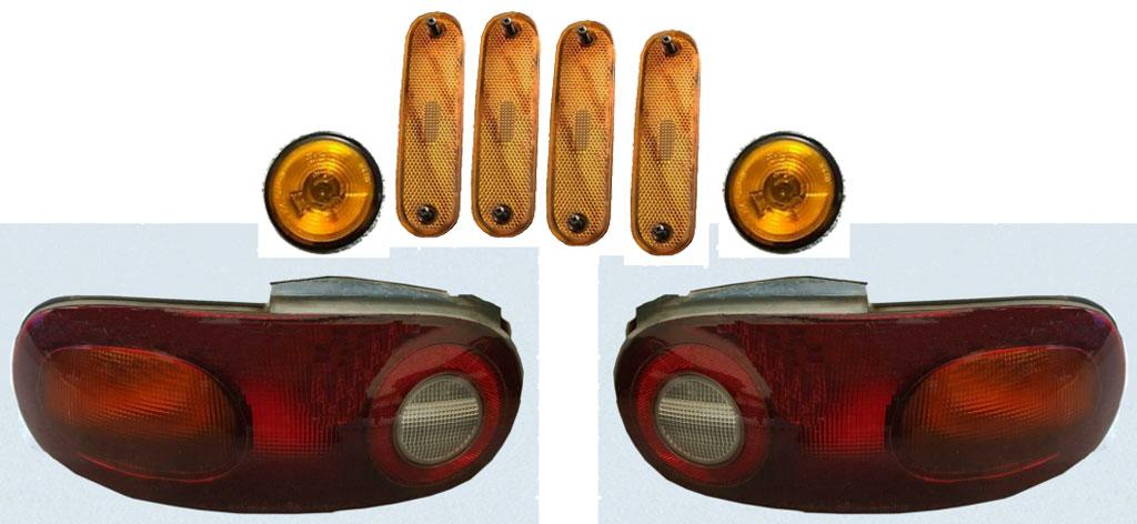 MX5 Rücklichter und Reflektoren