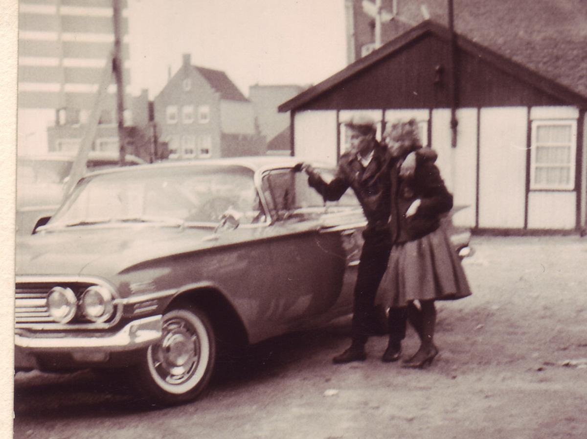 Schrottplatz Chevrolet bel Air von 1955
