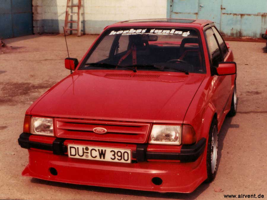 Aus den 80er Jahren - Ein MK3 - Ford Escort XR3i