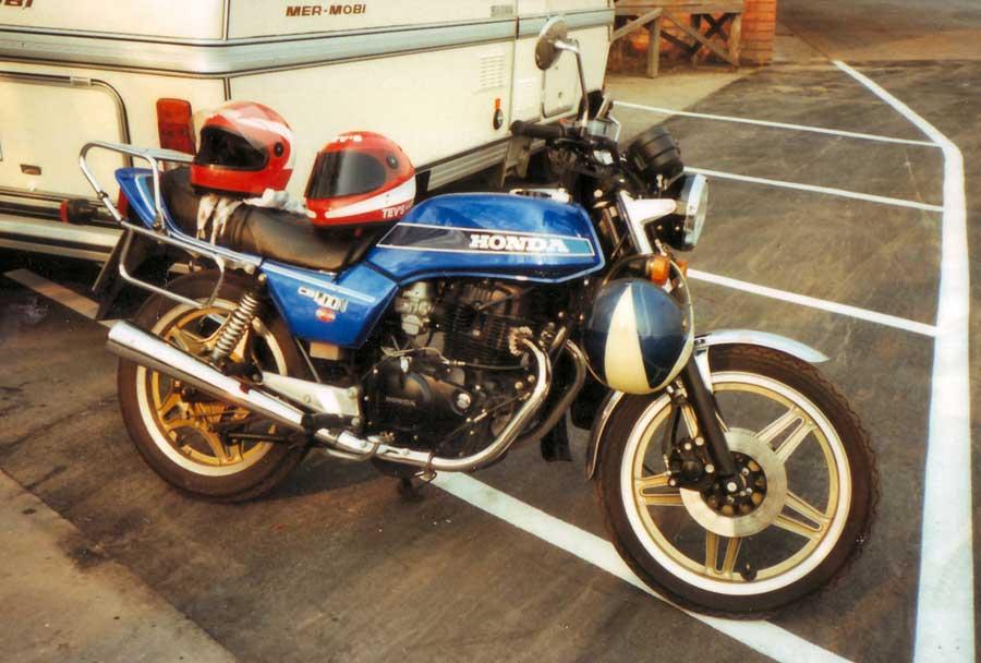 Mein erstes Motorrad war eine Honda CB 400 N