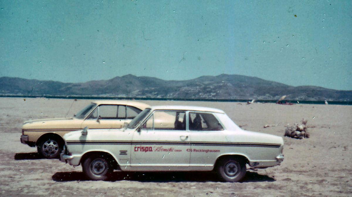 Schrottplatz Kadett B a.d. Urlaub 1973