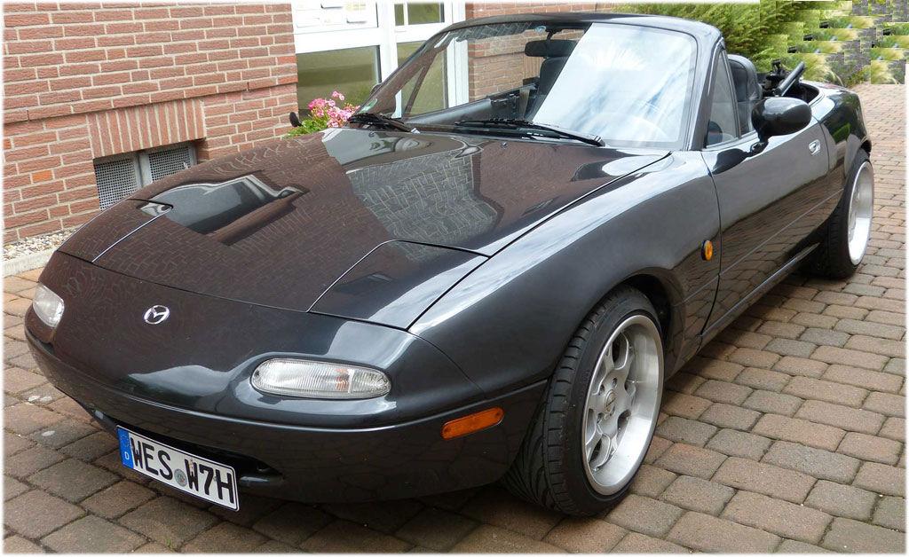 Mazda MX5 na von 1990