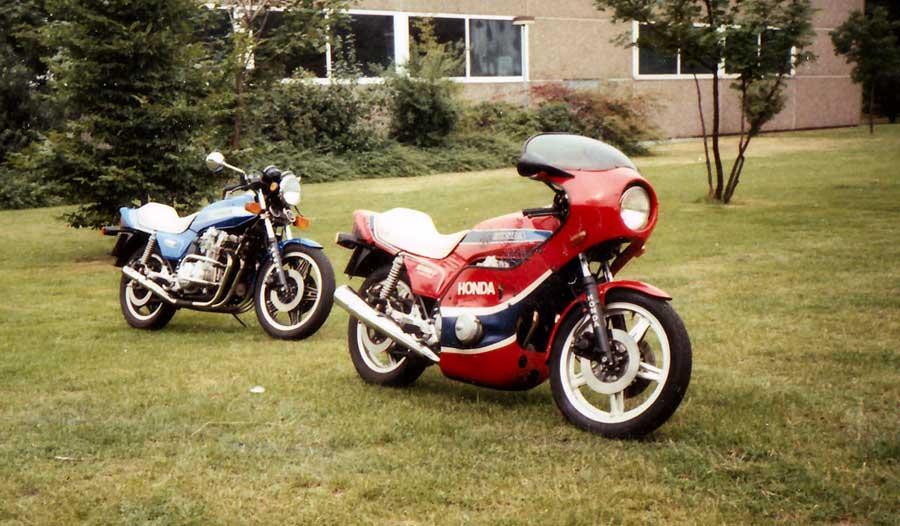 80er Jahre - Honda CB 900 Boldor - 1 Umbau und neue Verkleidung