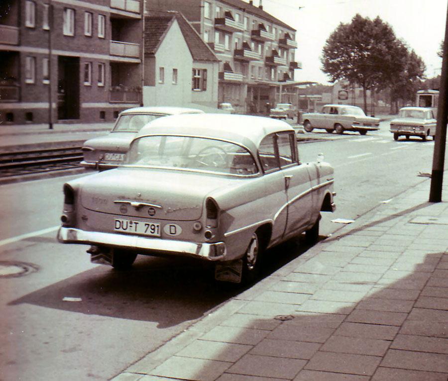 Der Opel Olympia Rekord P1