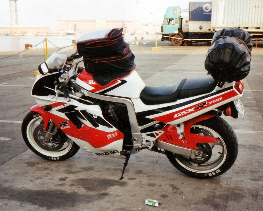 Meine erste Suzuki eine GSX 750R