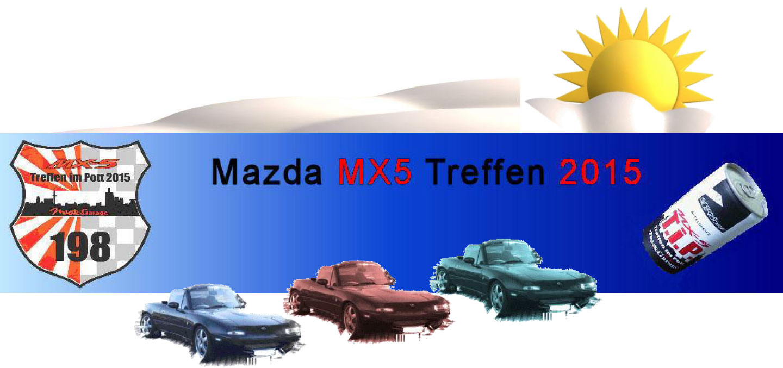 MX5 Treffen Tip 2015 Banner Mazda