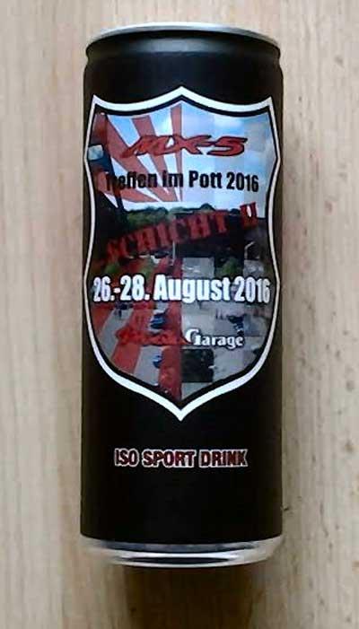 Iso Sport Drink vom Mazda MX5 Treffen