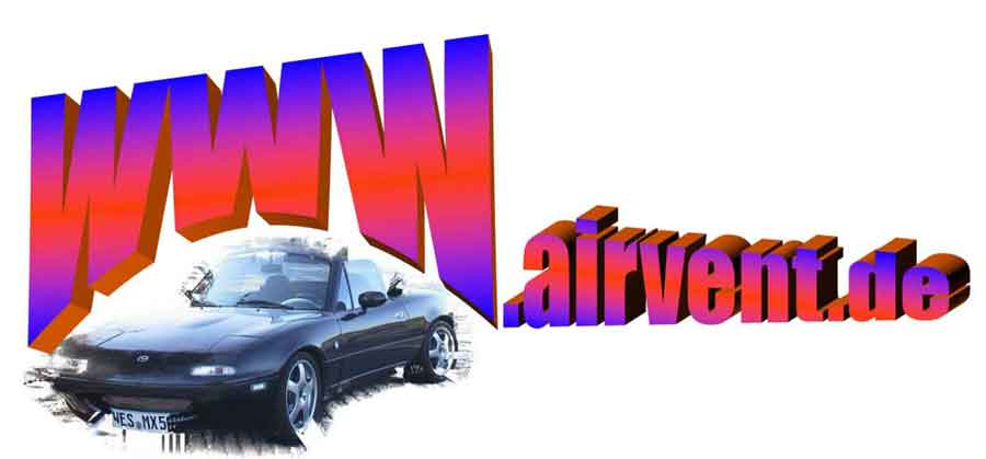 Airvent und die Treffen 2017 mit dem Mazda MX5 & neuem Logo