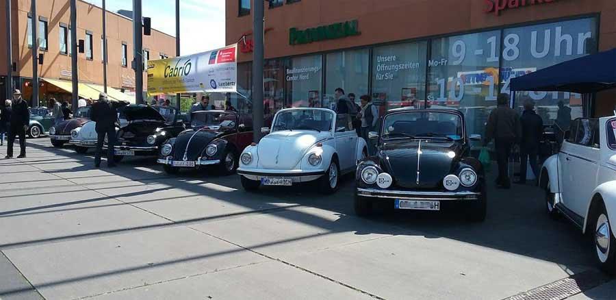 Einige VW Cabriolett in Oberhausen