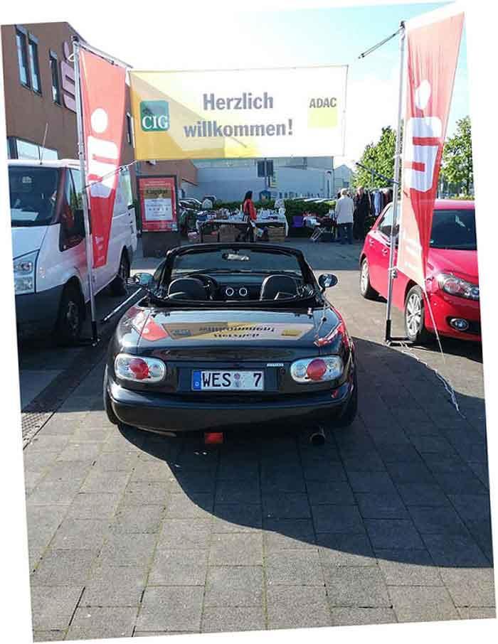 Veranstaltung Mazda MX5 in Oberhausen