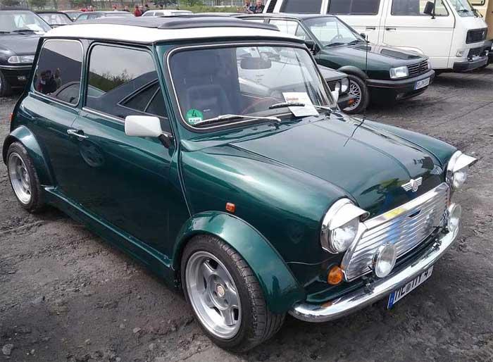 Der Mini Cooper ein Oldtimer