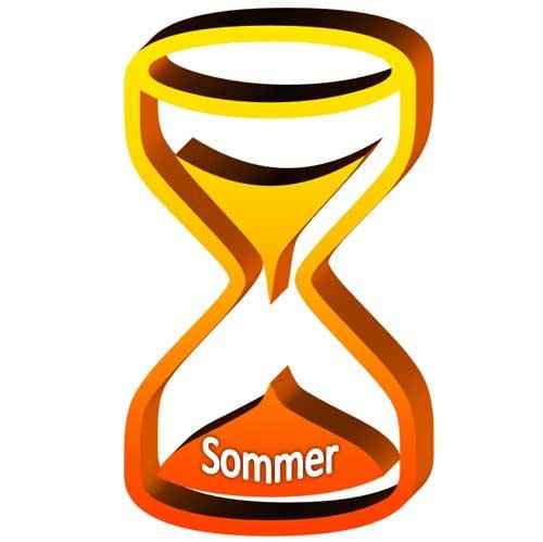 Sommerzeit Winterzeit - Eieruhr banner