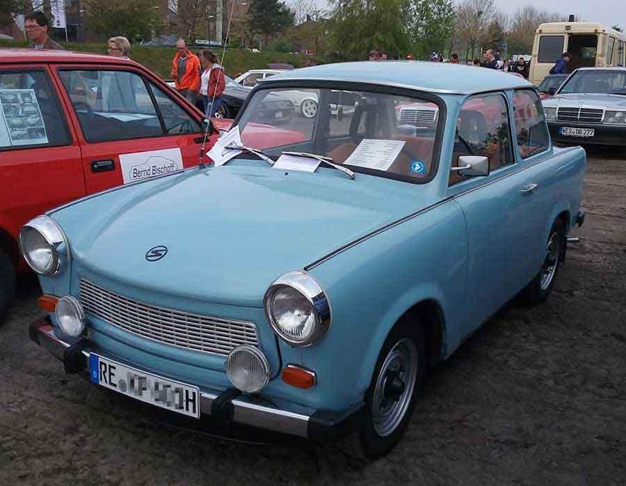 Der Trabant P601L mit H Nummer