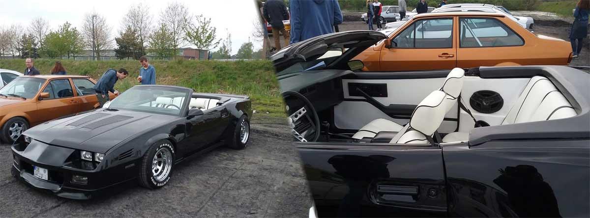 V8 mit weißer Lederausstattung