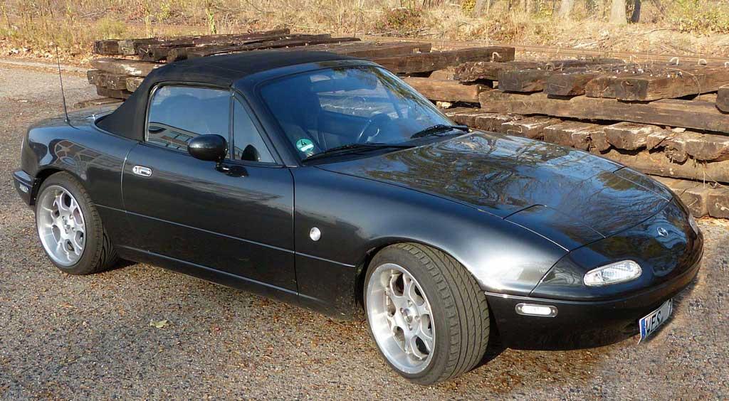 Das Kultauto, der Mazda MX-5