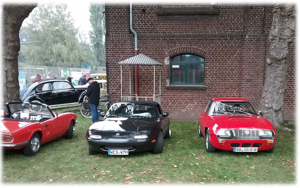 Mein MX5 beim Oldtimer-Treffen in Oberhausen