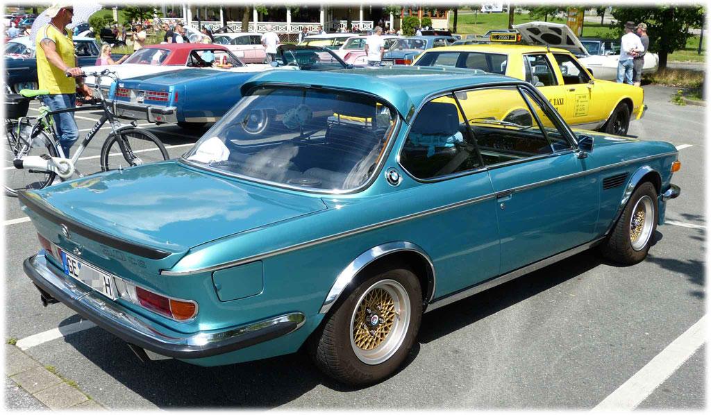 Parkplatztreffen BMW 3.0 CS