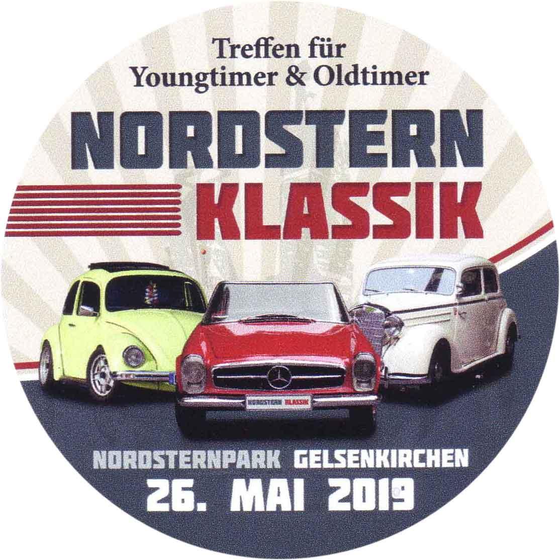 Aufkleber Nordstern Klassik-2019