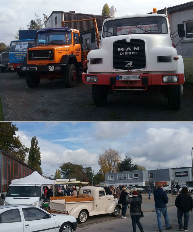 Youngtimer Events, LKW Buessing Magirus Deutz