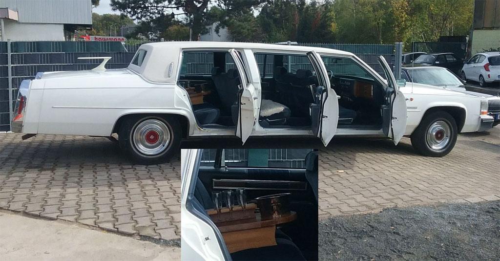 Oldieschrauber Stretch Limo Cadillac