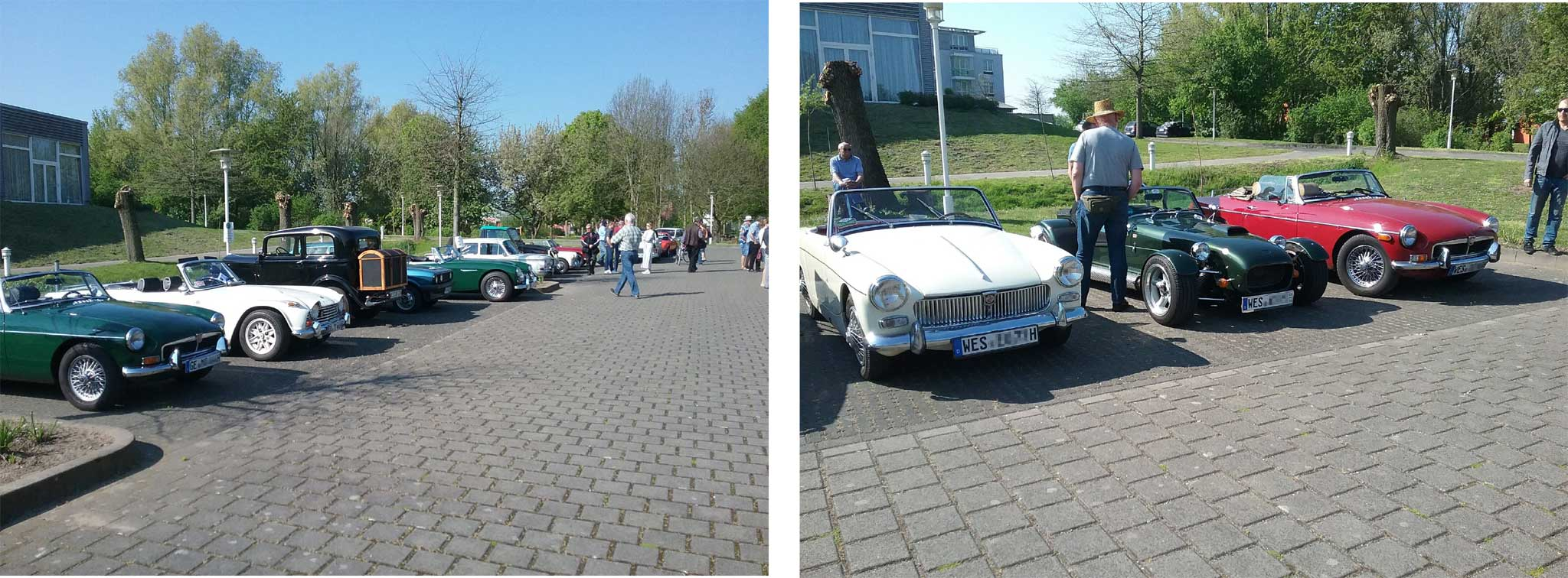 Youngtimer Events, Englische Roadster