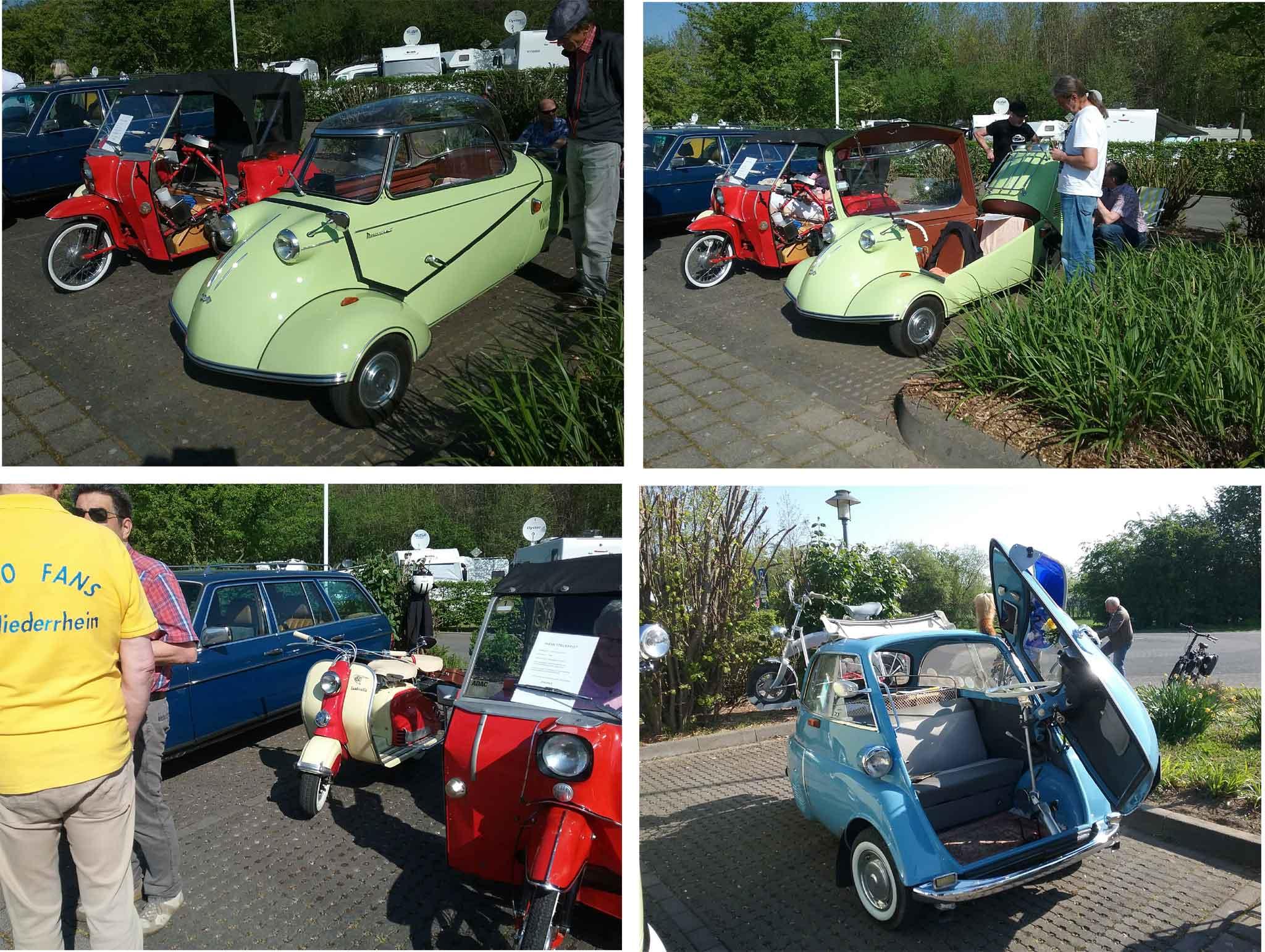 Lambretta, BMW, Isetta