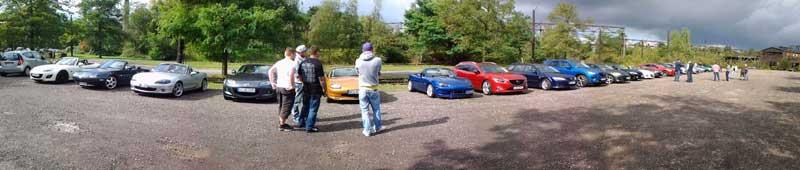 Mazda-Treffen MX5 Treffen in Duisburg