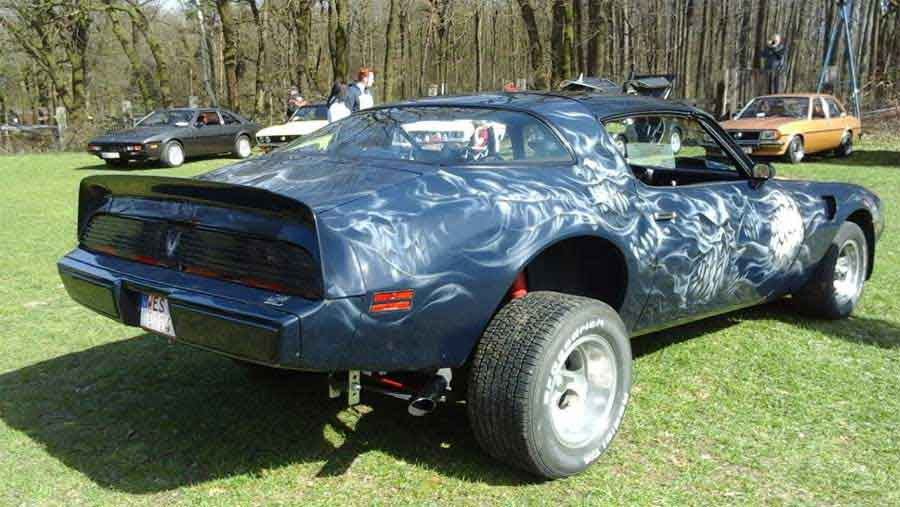 Das Beast ein Oldtimer V8