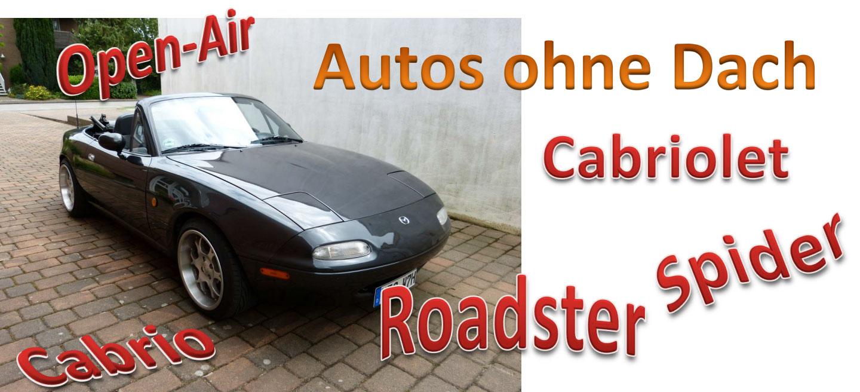 Autos ohne Dach